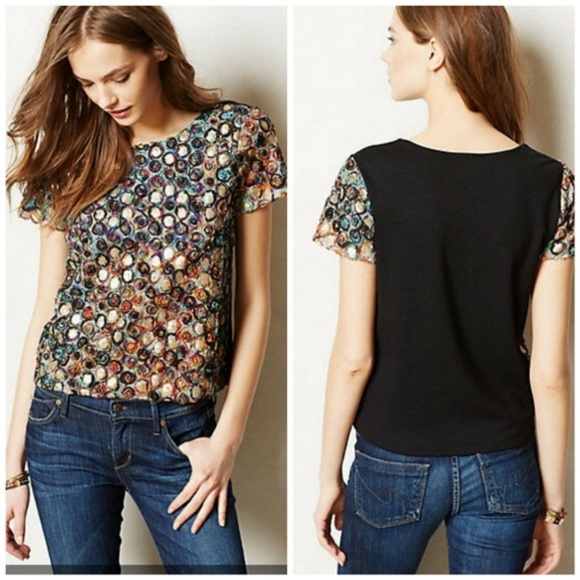 Anthropologie Tops - Anthropologie Weston Wear Glace Textured Top
